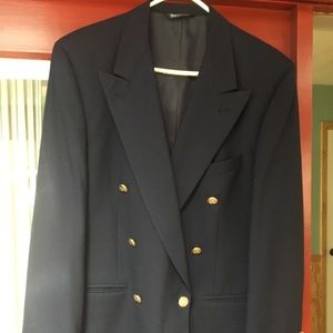 Burberry Navy Sports Coat